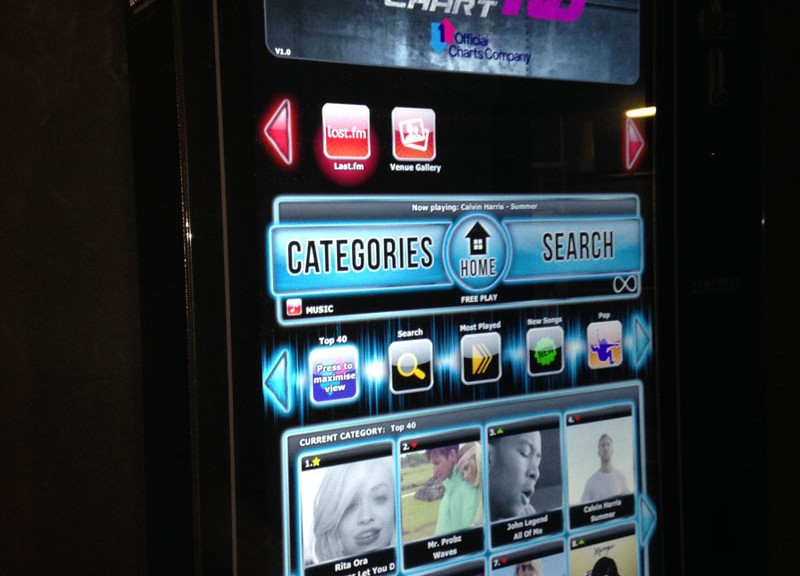 Carters Bar Jukebox
